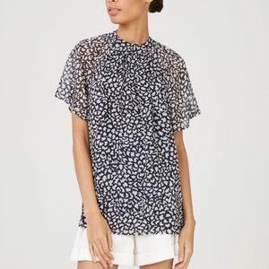 NWT Club Monaco Danicah top blouse